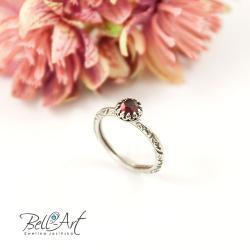 elegancki,ornamenty,zdobiona obrączka, - Pierścionki - Biżuteria