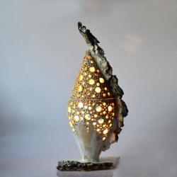 rzeźba,lampa - Ceramika i szkło - Wyposażenie wnętrz