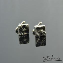 spinki do mankietów,srebr,rękodzieło,biżuteria, - Inne - Biżuteria