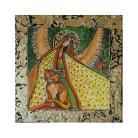 Obrazy anioł,kot,obraz,obrazek,dziecko,aniołek,kotek,