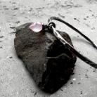Bransoletki nowoczesna,okrągła,surowa,organiczna,z kamieniem,