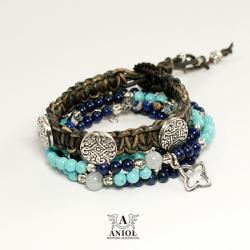 komplet bransolet damskich,letnie bransolety - Bransoletki - Biżuteria