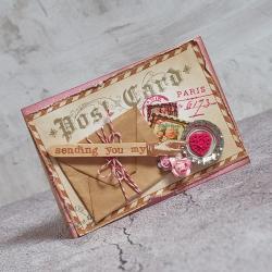 love,walentynki,miłość - Kartki okolicznościowe - Akcesoria