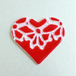 walentynki,dzień babci,serce,romantyczne - Ceramika i szkło - Wyposażenie wnętrz