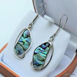 biżuteria,srebro,kolczyki,srebrne kolczyki,muszle - Kolczyki - Biżuteria