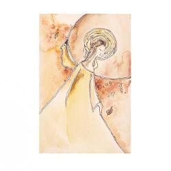 anioł,kobieta,skrzydła,aniołek,grafika,wnętrze, - Ilustracje, rysunki, fotografia - Wyposażenie wnętrz
