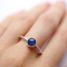 Pierścionki pierścionek,srebrny,labradoryt,niebieski,delikatny