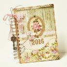Notesy kalendarz,2016,romantyczny