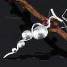 Naszyjniki geometryczny,wisior,wisiorek,fakturowane srebro