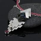 Naszyjniki szkło dichroiczne,wisior,wisiorek,amulet