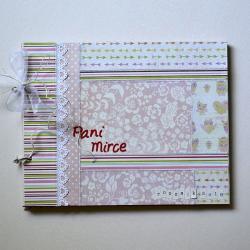 album,dla nauczyciela,szkoła,patchwork - Albumy - Akcesoria