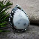 Pierścionki srebrny,elegancki,okazały,boho,romantyczny,