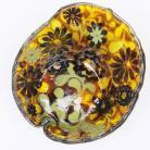 Ceramika i szkło misa,patera,szkło,fusing,dekoracja,na stół