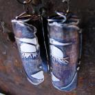 Kolczyki długie kolczyki,metaloplastyka