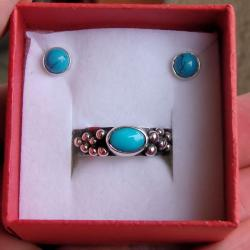 oryginalny,komplet,delikatny, - Komplety - Biżuteria