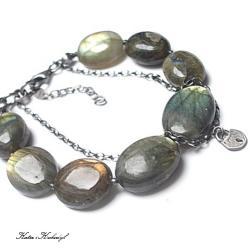 kamienie,minerały,kłódka - Bransoletki - Biżuteria