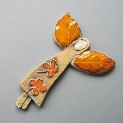 aniołek,handmade,dekoracja,wnętrze,prezent - Ceramika i szkło - Wyposażenie wnętrz