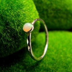 Nehesi,Pierścień,Ze Srebra,opalem,opal - Komplety - Biżuteria