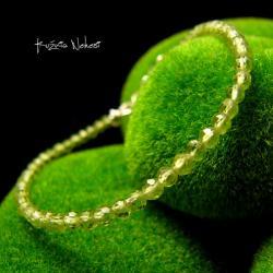 Nehesi,bransoleta,srebrny,oliwinem,perydot - Bransoletki - Biżuteria