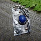 Wisiory srebrny,organiczny,natura,drzewo,Lapis Lazuli
