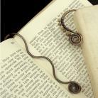Zakładki do książek zakładka,książka,prezent,krzemień pasiasty,miedź