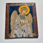 Obrazy Beata Kmieć,ikona,Anioł,ceramika,obraz