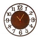 Zegary zegar,cichy,bezgłośny,drewniany,wyraźny