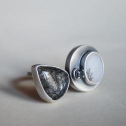 nitza,agat dendrytowy,autorska - Pierścionki - Biżuteria