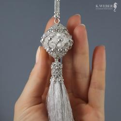 wisior,carski,bodaty,ślubny,kryształowy - Wisiory - Biżuteria