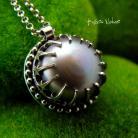 Naszyjniki Nehesi,naszyjnik,srebrny,srebra,perłą