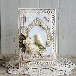 kartka,urodziny,imieniny,dzień matki,ślub - Kartki okolicznościowe - Akcesoria