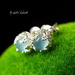 Nehesi,Kolczyki,ze Srebra,wkrętki,małe - Kolczyki - Biżuteria