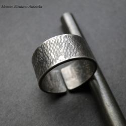 srebro,wężowa,męska,surowa,awangardowa - Dla mężczyzn - Biżuteria