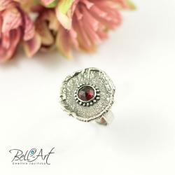 surowy,elegancki,fasetowany,nowoczesny - Pierścionki - Biżuteria