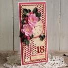 Kartki okolicznościowe kartka,urodziny,osiemnastka,na prezent