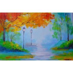 jesień - Obrazy - Wyposażenie wnętrz