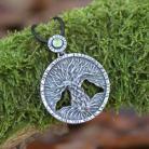 Wisiory drzewo życia,las,natura,magiczny,liście,kora