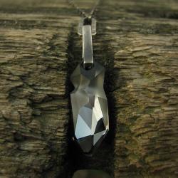 naszyjnik z kłem Swarovski - Naszyjniki - Biżuteria