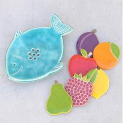 mydelniczka,łazienka,owoce,kuchnia - Ceramika i szkło - Wyposażenie wnętrz