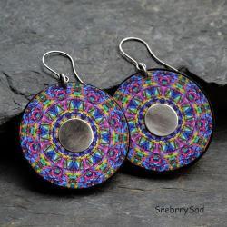 letnie kolczyki kolorowe - Kolczyki - Biżuteria