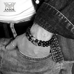 komplet bransolet,bransoleta,biżuteria męska - Dla mężczyzn - Biżuteria