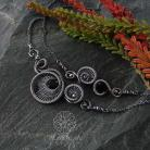 Komplety srebrny komplet z serduszkami,alabama studio