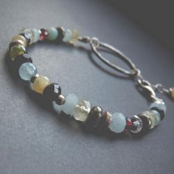 kolorowa bransoleta - Bransoletki - Biżuteria