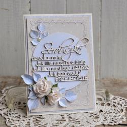 kartka,dla maleństwa,chrzest,na prezent - Kartki okolicznościowe - Akcesoria
