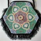 Na ramię koraliki Toho,szydełko,torebka,handmade