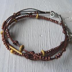 piryty,z pirytem - Bransoletki - Biżuteria