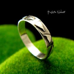 Nehesi,Pierścień,Ze Srebra,obączka,srebrna - Pierścionki - Biżuteria