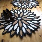 Inne dywan,z filcu,aster,kwiat,nieregularne kształt
