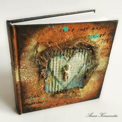 notes,szkicownik,pamiętnik,aniołek - Notesy - Akcesoria