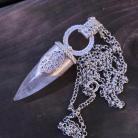 Wisiory amulet,talizman,hamsa,dłoń Fatimy